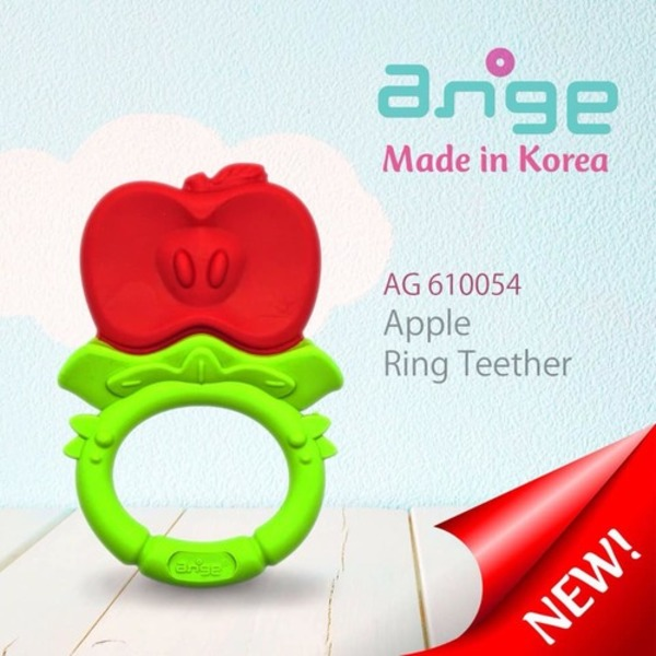 Ange Apple Teether Ring (No Include Clip)