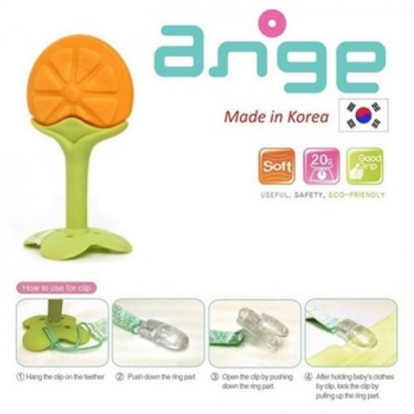 Ange Fruit Teether Orange