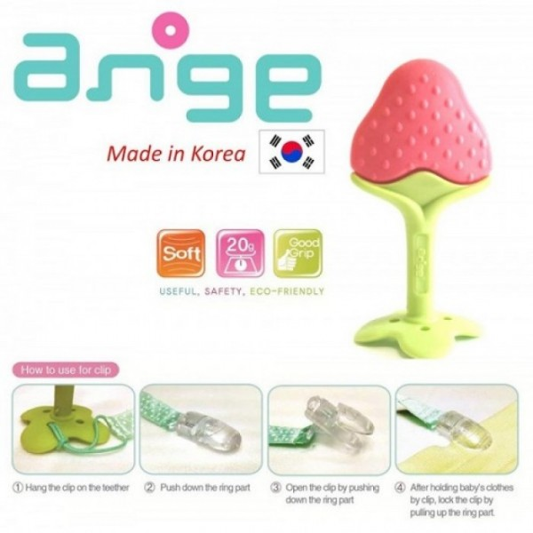 Ange Fruit Teether Strawberry