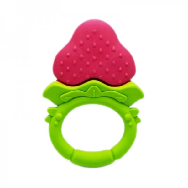 Ange Strawberry Teether Ring (No Include Clip)