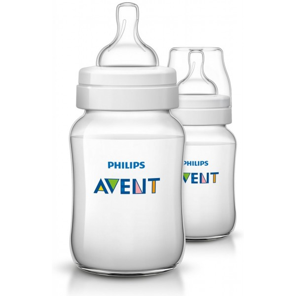 Philips Avent Bottle Classic+ 260ml Twin Pack