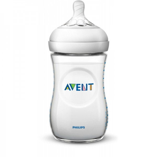 Philips Avent Natural 260ml Single - White