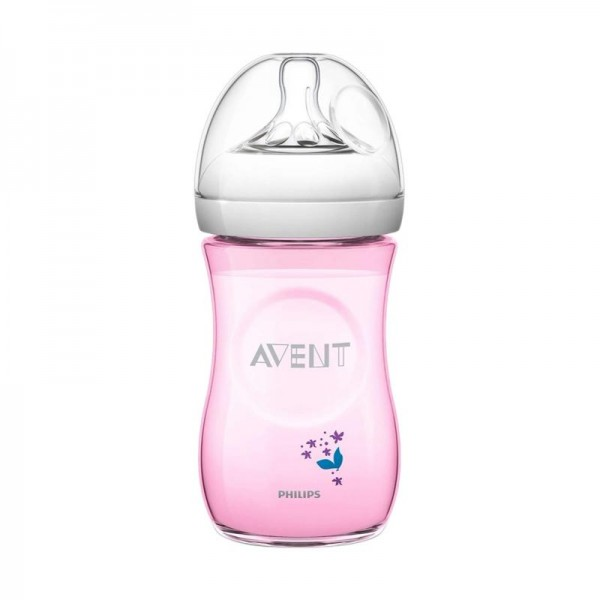 Philips Avent Natural Flower Pink 260ml