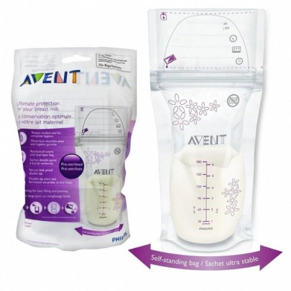 Avent Breastmilk Storage