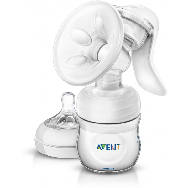 Philips Avent Natural Manual Breast Pump New