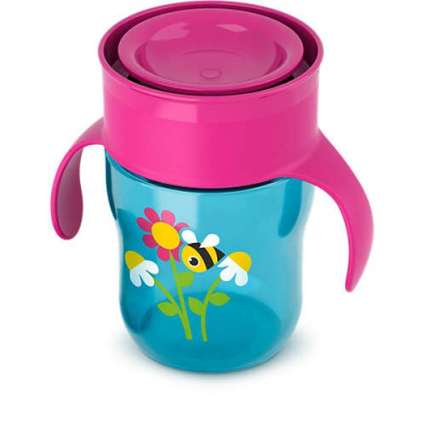 Philips Avent Grown Up Cup 9m+ - Deco Flower and Bee