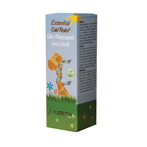 AzetaBio Organic Essential Cold Relief