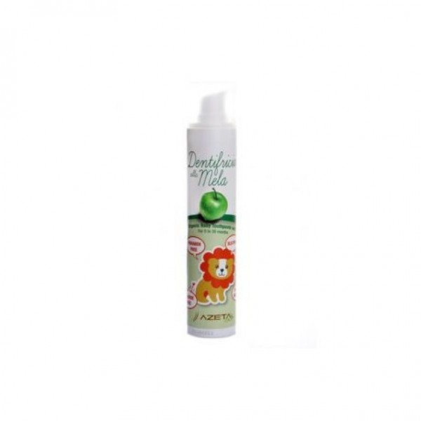 AzetaBio Organic Baby Toothpaste with Xylitol 50 ml Apple