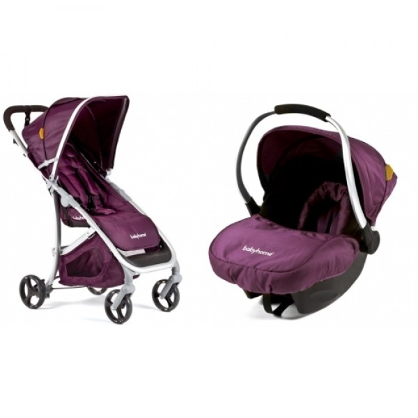 Babyhome Emotion Included Carseat Egg Purple