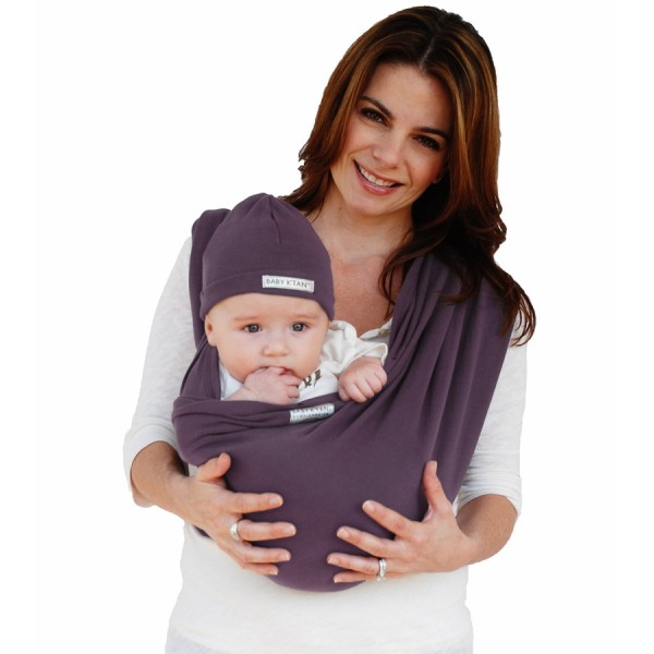 Baby K'tan Baby Carrier - Eggplant (M)