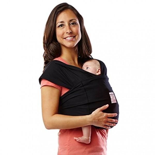 Baby K'tan Original Baby Carrier Black (M)