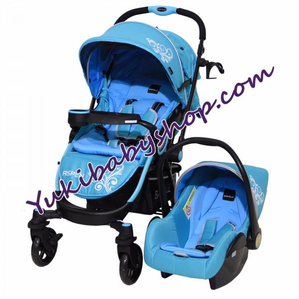 Baby Elle 603 Aspen Travel System Blue