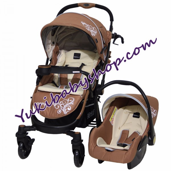 Baby Elle 603 Aspen Travel System Coffe