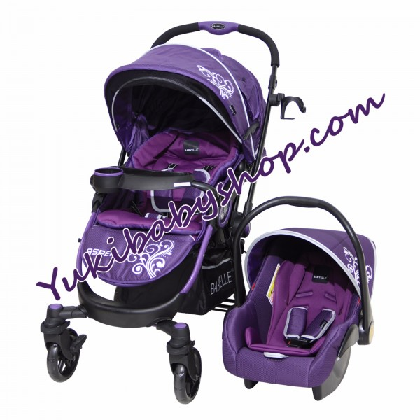 Baby Elle 603 Aspen Travel System Purple