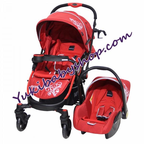 Baby Elle 603 Aspen Travel System Red