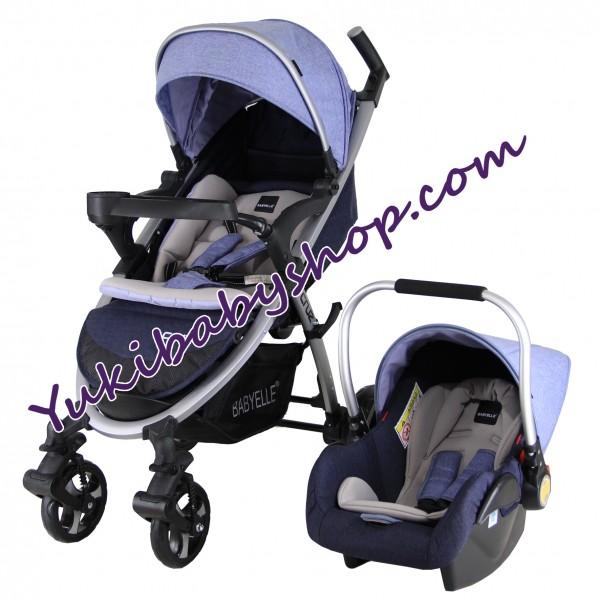 Baby Elle Cruz Travel System S702 CS1000 Blue