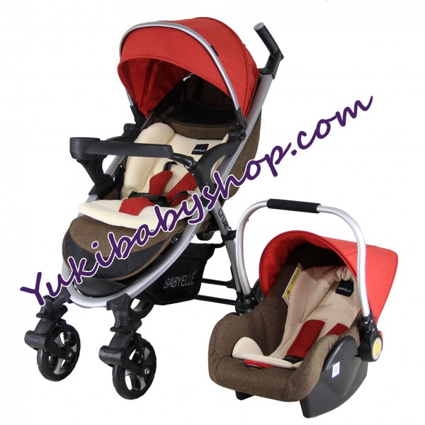 Baby Elle Cruz Travel System S702 CS1000 Red