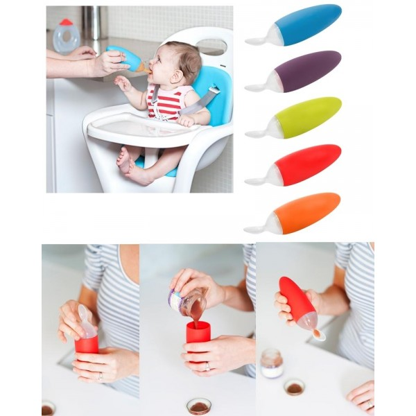 BOON - Squirt Baby Food Dispensing Spoon