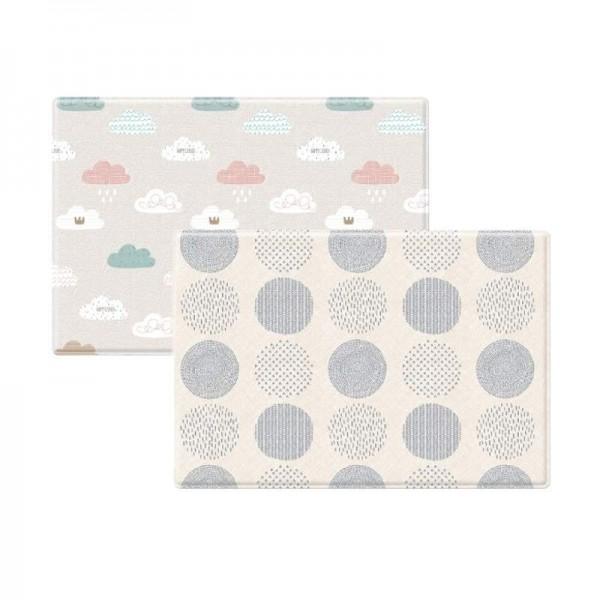 Coby Haus Mat PVC Playmat Size M - Blue Spot