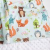 Cottonseeds Blanket Animals Forest