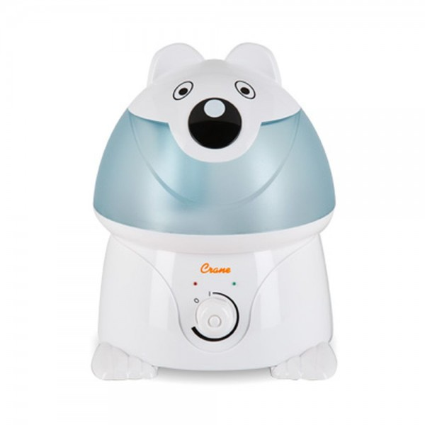 Crane Adorable Ultrasonic Polar Bear Cool Mist Humidifier