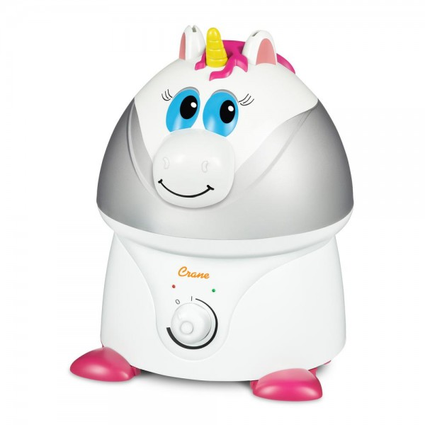 Crane Adorable Ultrasonic Unicorn Cool Mist Humidifier