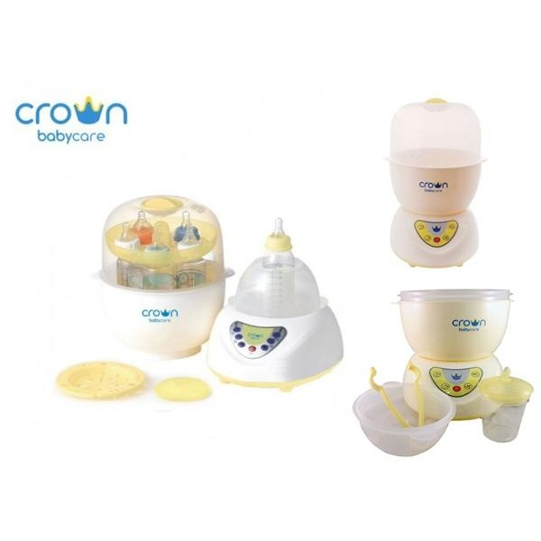 Crown CR1088 Easydry Multi Steamer 6 Bottles
