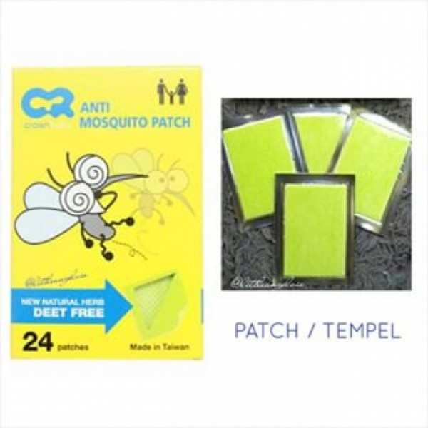 Crown Anti Mosquito Patch 24 CR-2138
