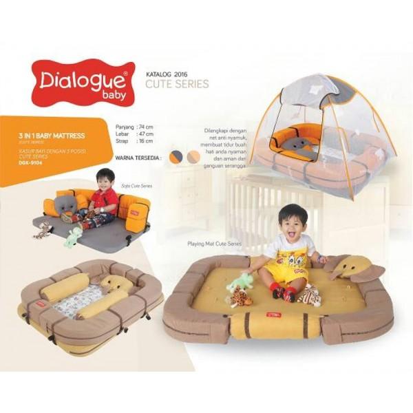 Dialogue Kasur Bayi Dengan 3 Posisi