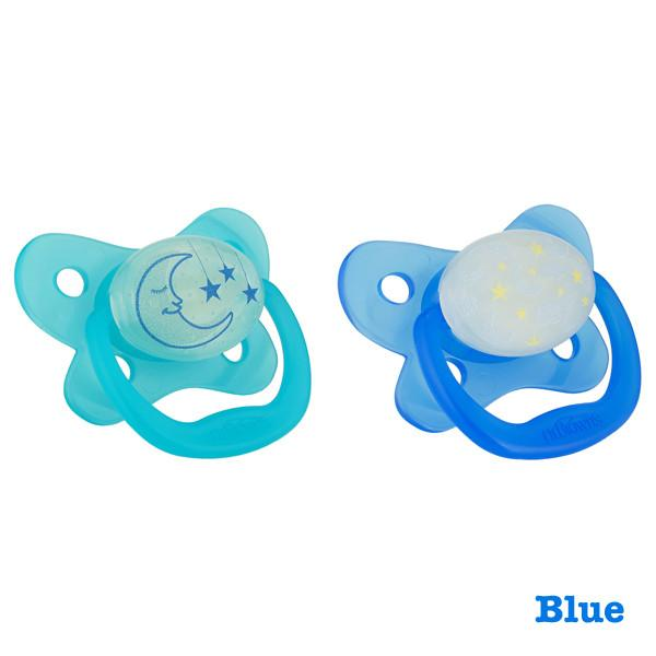 Dr. Browns  Glow in the Dark Pacifier Stage 2 (6-12m) Blue
