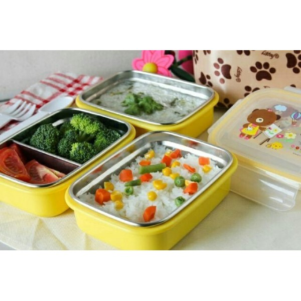 Gig Baby Lunch Box Stainless Steel Kotak