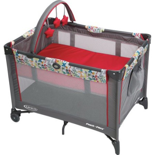 Graco Pack N Play On the Go Travel Playard Typo