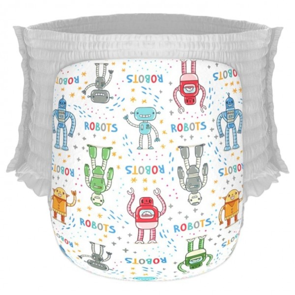Happy Diapers Pant L 26 Popok Bayi - Robots