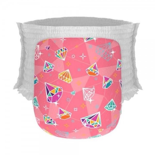 Happy Diapers Pant L 26 Popok Bayi - Diamonds Are Forever