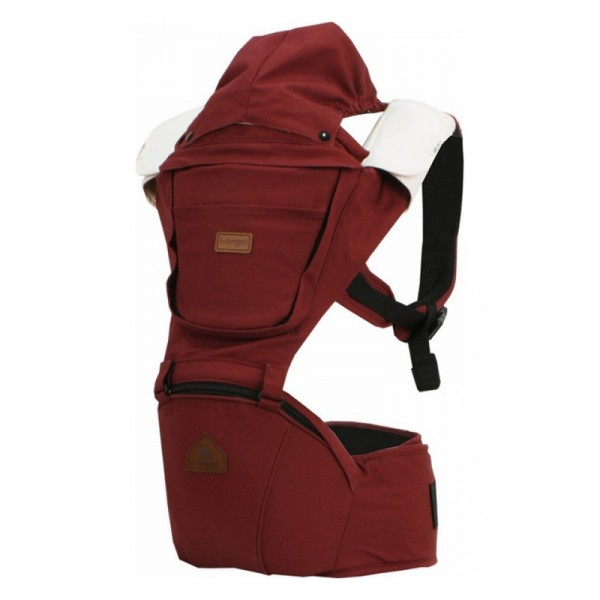 i-angel Hipseat Carrier IRENE Solid Wine