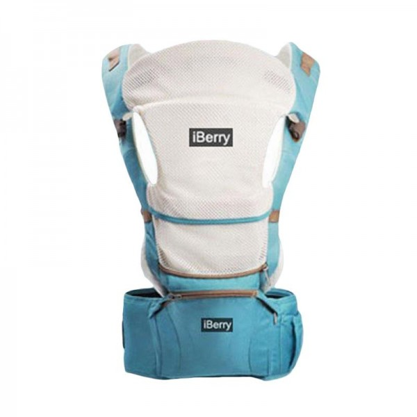 iBerry Windsor G01 9in1 Baby Carrier - Blue Green