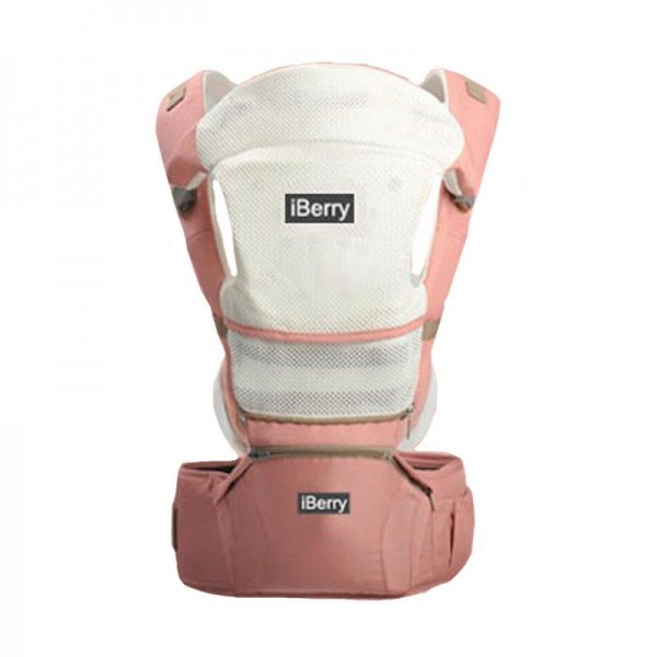 iBerry G01 Windsor 9in1 Baby Carrier - Pink