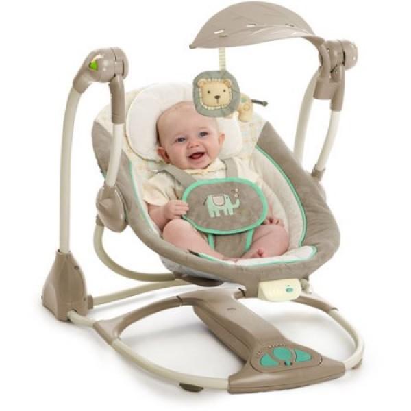 Ingenuity ConvertMe Swing-2-Seat Whimsical Wonders