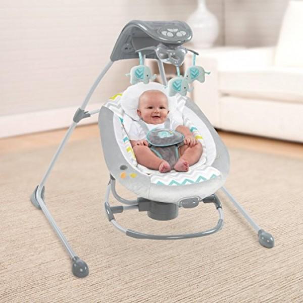 Ingenuity™ InLighten 2-in-1 Cradling Swing™60476