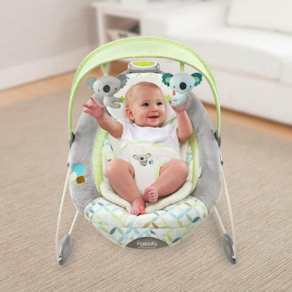 Ingenuity SmartBounce Automatic Bouncer - Brighton