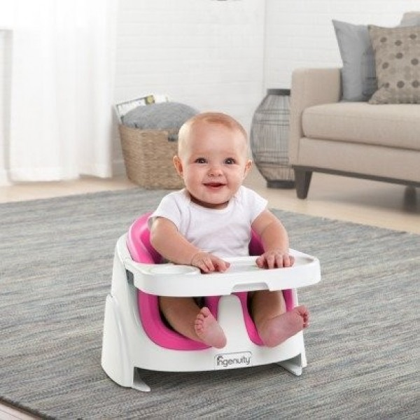 Bright Starts Ingenuity Baby Base 2 in 1 Magenta