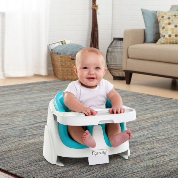 Bright Starts Ingenuity Baby Base 2 in 1 Aqua