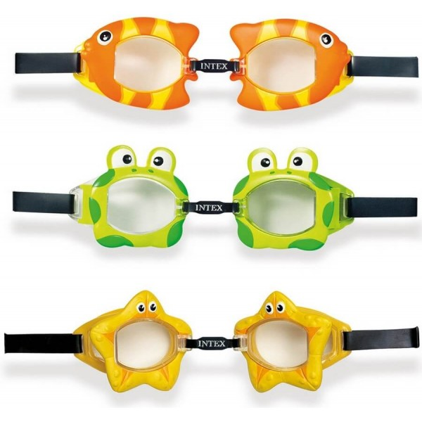 Intex Design Fun Swimming Goggles 55603