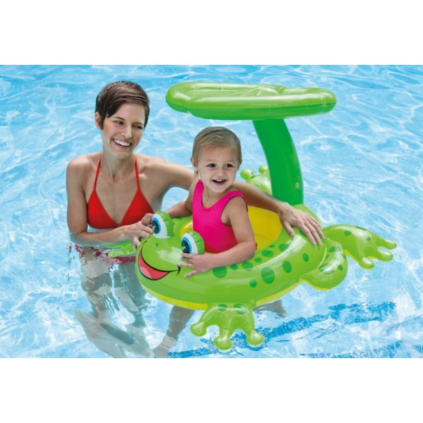 Intex Froggy Friend Shaded Baby Float 56584
