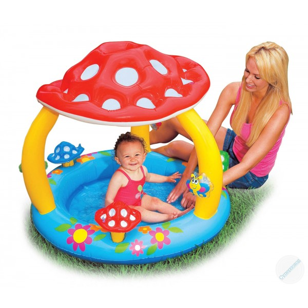 Intex Baby Pool Mushroom 57407