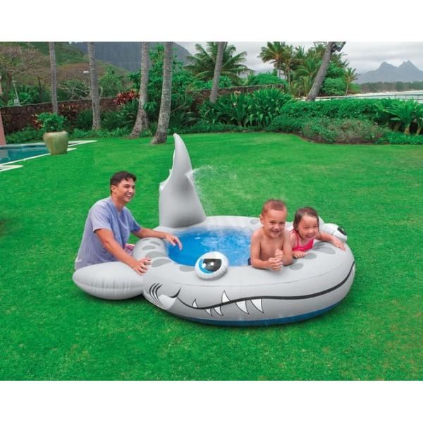 Intex Sandy Shark Spray Pool 57433