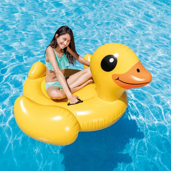Intex Yellow Duck Ride-On 57556NP