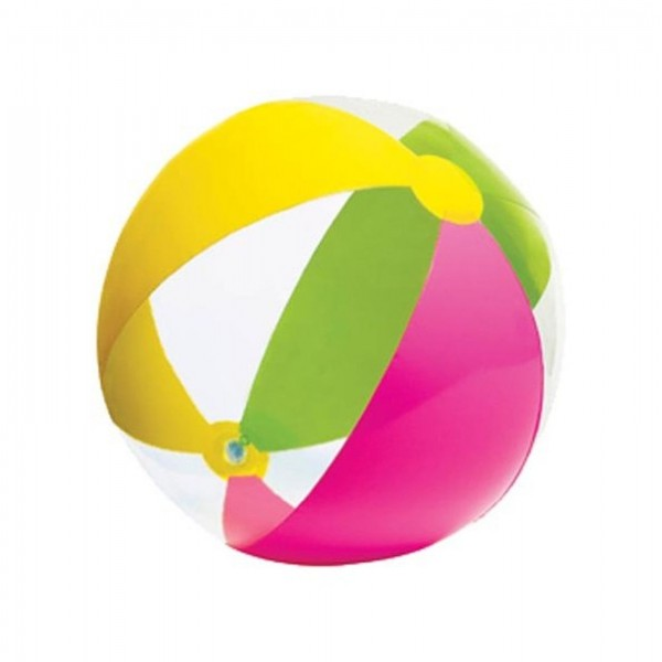 INTEX Inflatable Paradise Panel Colorful Beach Ball - 59032EP