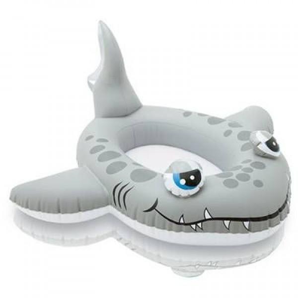 Intex Kids Inflatable Swim Pool Water Float Whale Shape 59380