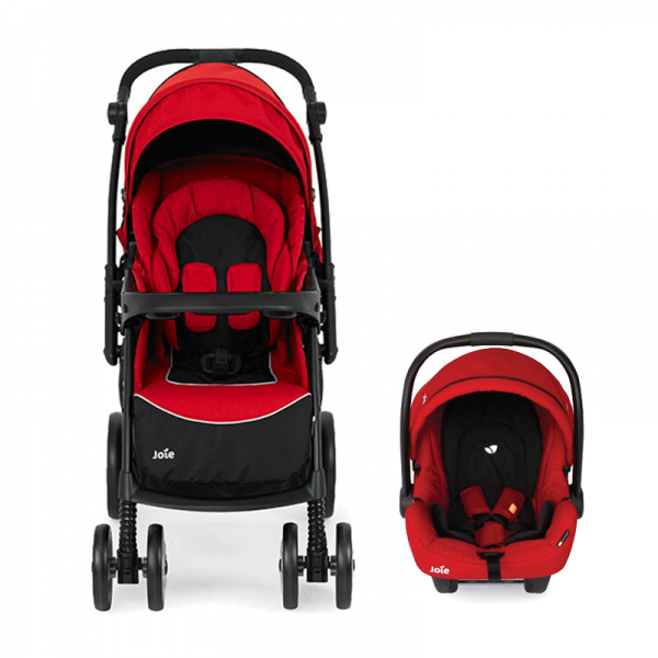 Joie Extoura Travel System - Red